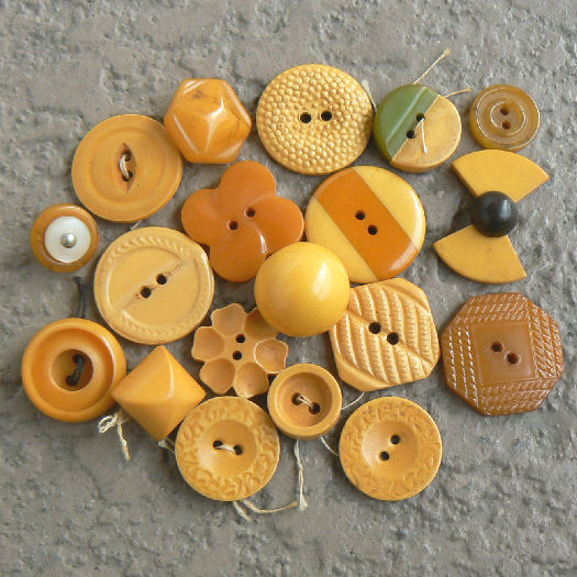 B451-25 Buttons Green Vintage Button Collection  Great Vintage Plastic Lucite Glass and Celluloid Unique Collectible Buttons